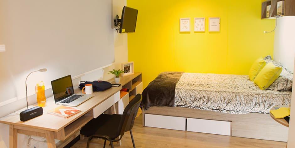 habitación esstudia residencias universitarias